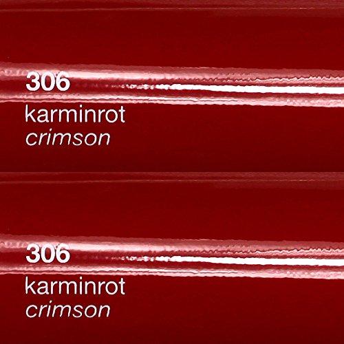8,25€/m² Oracal 751c - 306 Karmin Rot - Glanz Klebefolie - 5m x 63cm - Folie - Moebelfolie - Plotterfolie - Selbstklebend - gegossen - cast