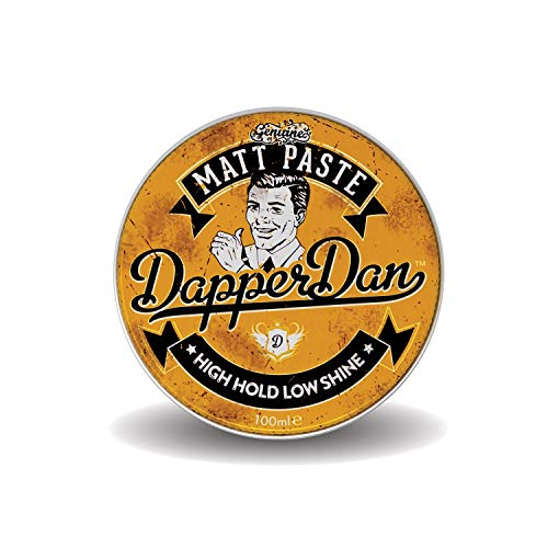 Matt Paste By Dapper Dan, High Hold Low Shine, Perfect For All Hair Styles, Vintage Cologne Fragrance 100ml