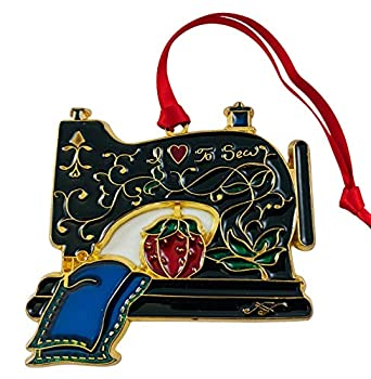 Sewing Machine Ornament Christmas Tree Decoration Love to Sew Holiday Home Decor