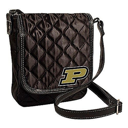 Littlearth Purdue Boilermakers NCAA Quilted Purse Handbag