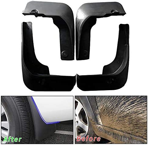 Muchkey no dril car mud Flaps for Toyota Camry 2015 2016 2017 Sedan Splash Front and Rear Guards product image