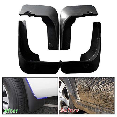 Muchkey no dril car mud Flaps for Toyota Camry 2015 2016 2017 Sedan Splash Front and Rear Guards 4pcs/Set