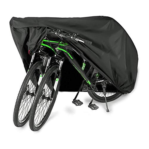 26 in Bicycle Covers Waterproof Bike Shelter Rainproof And Dustproof Durable Bicycle Shed-Anti-Ice And Snow Bicycle Protection Tent Can Store 2 Bicycles for Garden Outdoor Housing