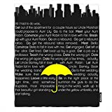 Moslion Soft Cozy Throw Blanket How I Met Your Mother Fuzzy Warm Couch/Bed Blanket for Adult/Youth Polyester 60 X 80 Inches(Home/Travel/Camping Applicable)