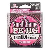 サンライン(SUNLINE) PEライン ソルティメイト スモールゲーム HG 150m 0.4号 6lb サクラピンク