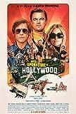 Once Upon A Time in.Hollywood - Affiche de Cinéma Originale - 40x53 cm - Pliée
