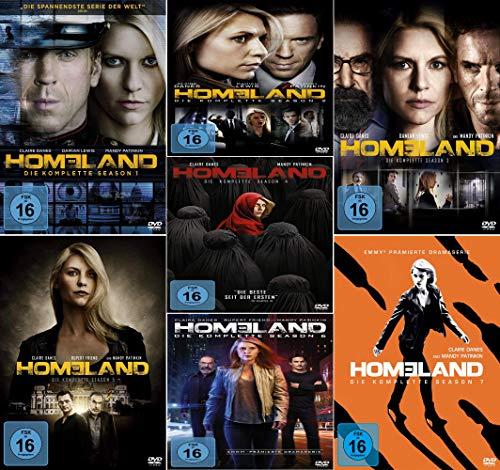 Homeland Staffel 1-7 (1+2+3+4+5+6+7) [DVD Set]
