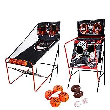 Lancaster 2 Player Electronic Arcade 3 in 1 Basketball Football Baseball Game