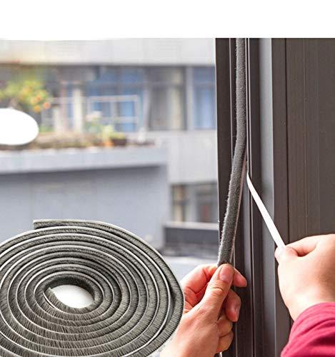 """LANRCYO 32.8 FT Self Adhesive Seal Strip Weatherstrip for Window,Door,Wardrobe,Door Seal Strip Window Seal Door Frame Insulation(0.35"""" 0.35"""")"""