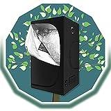 ZXD Armarios De Cultivo, Resistente A La Luz Y Al Agua Planta De Interior En Crecimiento Caja Oscura Creciente for Plántulas...