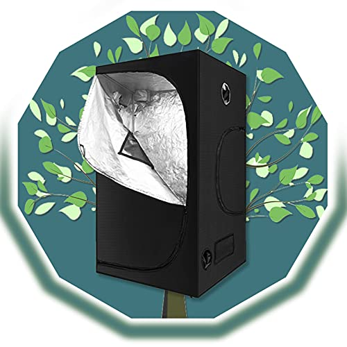 ZXD Armarios De Cultivo, Resistente A La Luz Y Al Agua Planta De Interior En Crecimiento Caja Oscura Creciente for Plántulas De Interior Planta Que Crece (Size : 40x40x120cm/16 x16 x48)