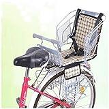 Kindersitz für Kindersitze Fahrradsitz Kinderfahrradsitz Rücksitz Sicherheitsgurt für Kinder mit...