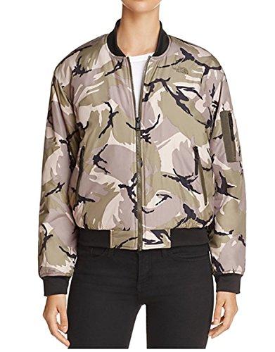 The North Face Womens Barstol Puffer Bomber Jacket (Medium)