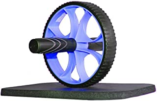 ATIVAFIT Ab Roller Wheel Abdominal Exercise Workout Equipment with Knee Mat
