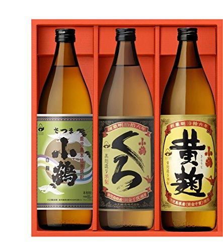 小正醸造 薩摩の地焼酎 小鶴味わいセット KKK -03 飲み比べ小正醸造 薩摩の地焼酎 小鶴味わいセット KKK -03 飲み比べ