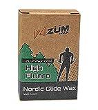 ZUMWax HIGH Fluoro Nordic/Cross-Country Racing Glide Wax - Universal - All Temperatures