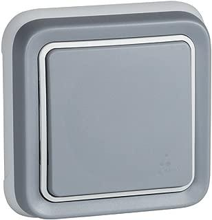 Legrand Plexo–Switch Switch Recessed (Modern) Grey