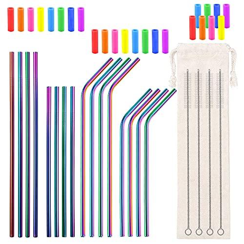 Metal Straws Reusable 8.5