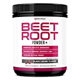 Havasu Nutrition Beet Root Powder - Supports Workout Recovery & Promotes Athletic Endurance, No Sugar, Black Cherry Flavor, Net Weight 266g (9.38 oz)