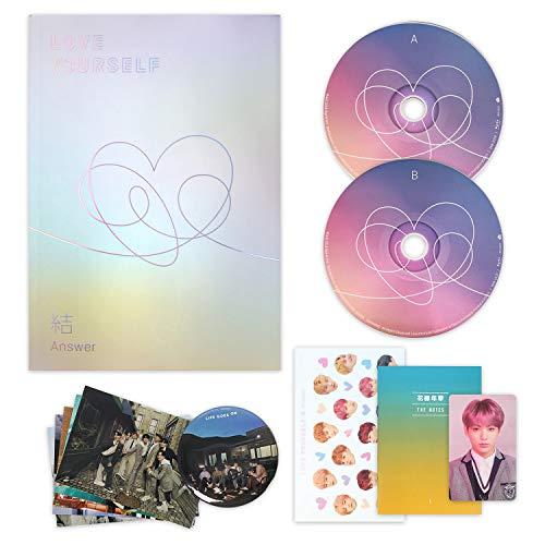 LOVE YOURSELF 結 ANSWER [ L ver. ] BTS Album 2CD + Photobook + Mini Book + Sticker Pack + F.G