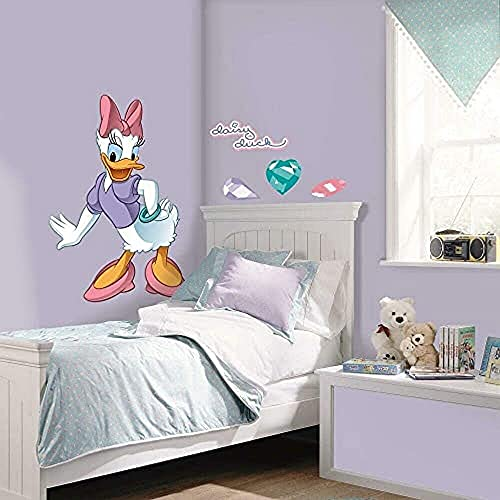 Sticker Géant Repositionnable Mickey et ses Amis Daisy