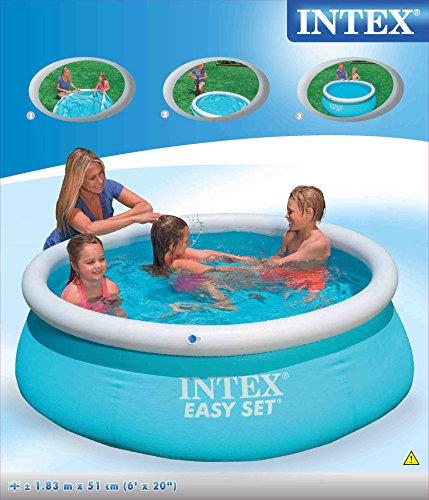 INTEX Piscinette Easy Set autoportante 1,83 x 0,51 m