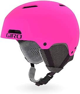 Giro Crue Youth Snow Helmet - Matte Bright Pink - Size M (55.5-59cm)