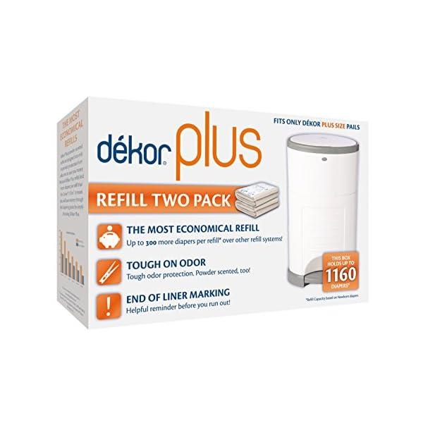 Dekor Plus Diaper Pail Refills