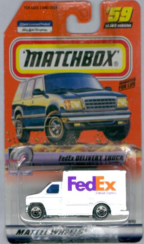 Matchbox FedEx Delivery Truck Speedy Delivery Series #59