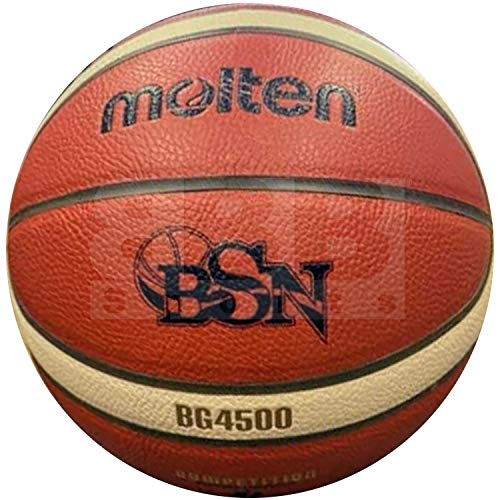 Why Should You Buy Molten BG4500 Official Baloncesto Superior Nacional FIBA Approved Basketball Size...