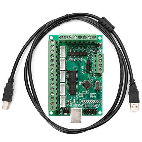 Fagu CNC USB MACH3 100Khz Placa de conexión Controlador de Movimiento de Controlador de Interfaz de 5 Ejes