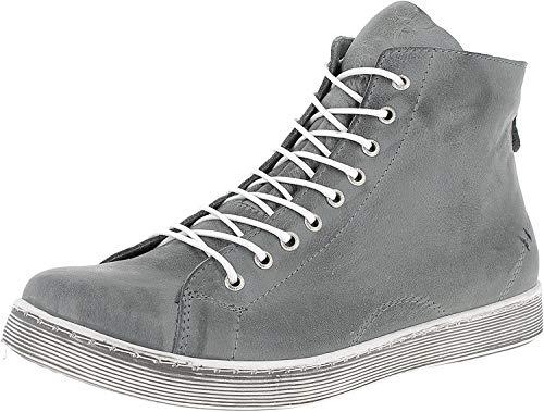Andrea Conti Damen 0341500 Hohe Sneaker, Grau, 39 EU