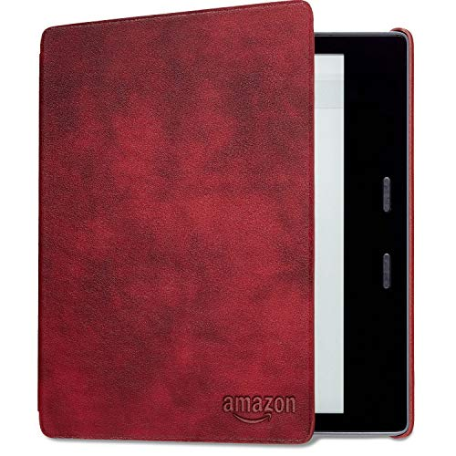 Kindle Oasis Leather Cover, Merlot