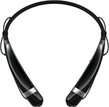 LG Electronics Tone Pro HBS-760 Bluetooth Wireless Stereo Headset - Black (Renewed)