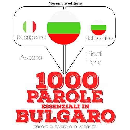 1000 parole essenziali in Bulgaro audiobook cover art