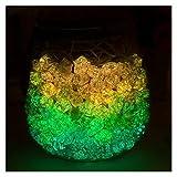 30pcs Luminosa Estrella de la Suerte Plegable Origami Lucky Star Origami Cinta de papel U7ed