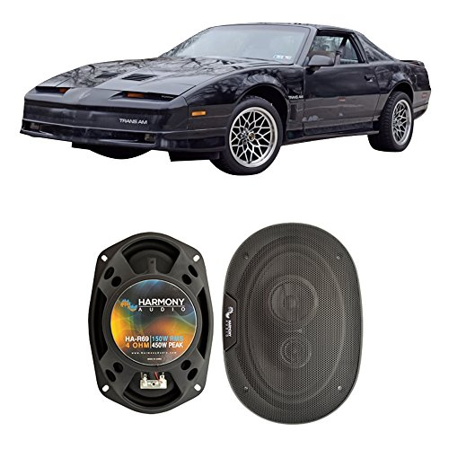 Harmony Audio Fits Pontiac Trans Am 1982-1992 Rear Side Panel Factory Replacement HA-R46 Speakers New