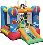 Happy hop - Aire de jeu gonflable avec toboggan - dimensions : 280x210x185cm