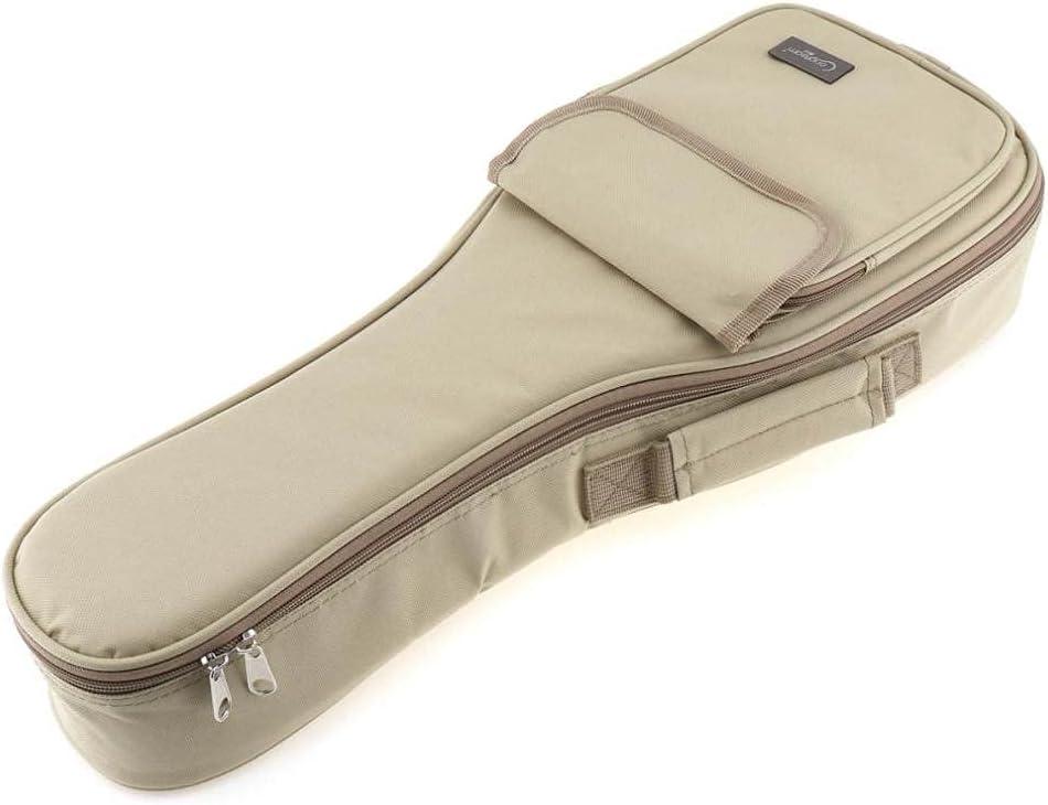 WGOEODI Guitar Bags 21 Inch Concise Spo trend rank Ranking TOP17 15mm Khaki Bag Ukulele