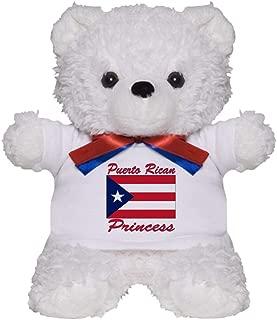 CafePress Puerto Rican Pride Teddy Bear, Plush Stuffed Animal