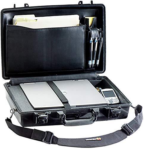 PELI 1490CC1 Shock-proof Laptop Case, IP67 Watertight and Dustproof, 26L Capacity, Made in US, Black