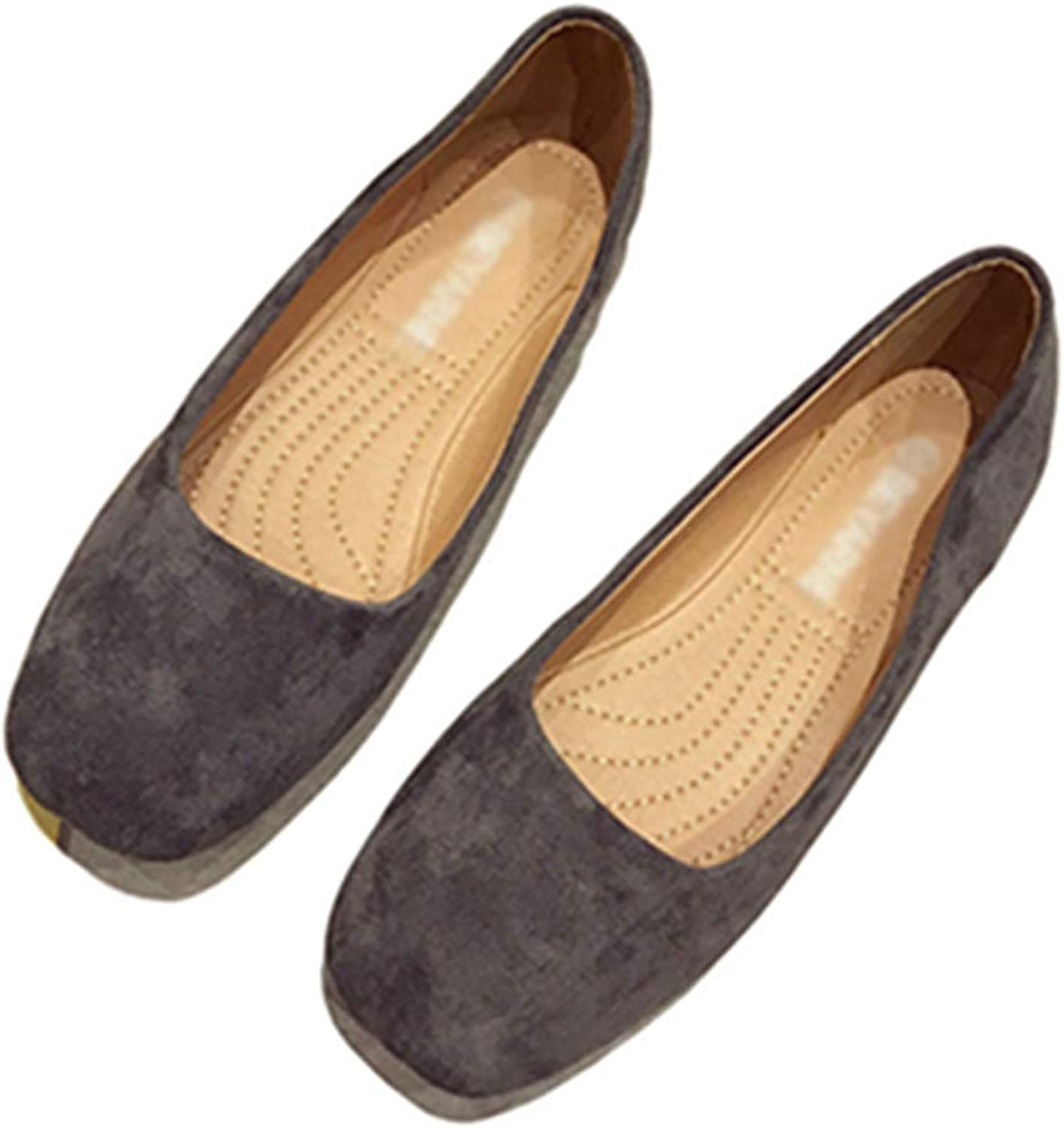 Kyle Walsh Pa Women Casual Flats shoes Suede Slip-on Soft Comfortable Ladies Working Driving Moccasins
