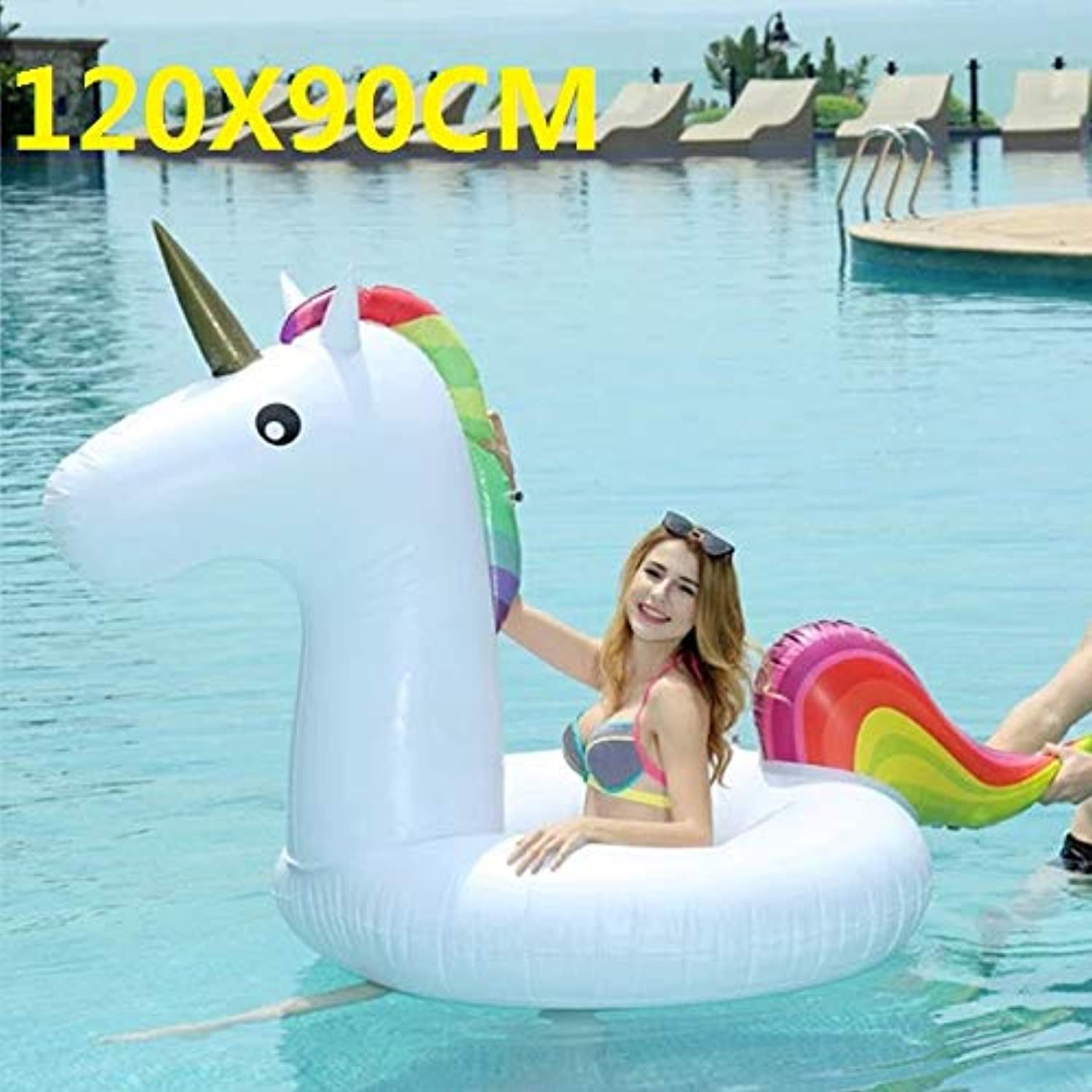 SHIJING Giant Flower Print Swan Inflatable Float For Adult Pool Party Toys Green Flamingo RideOn Air Mattress Swimming Ring boia,4