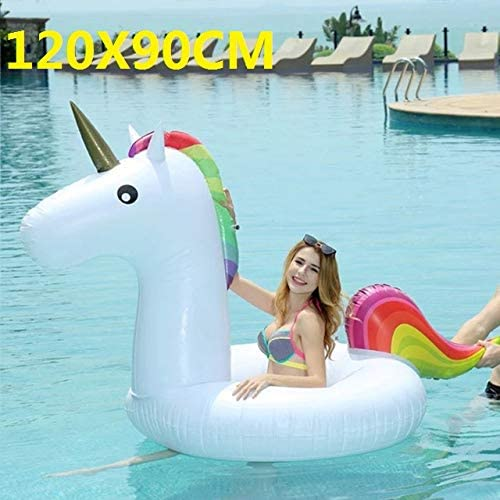 SHIJING Riesen Blumendruck Schwan Aufblasbare Schwimmer Für Erwachsene Pool Party Spielzeug Größe Flamingo Aufsitzluftmatratze Schwimmring boia,4