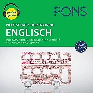 Wortschatz-Hörtraining Englisch: Über 2.000 Wörter & Wendungen hören und lernen Titelbild