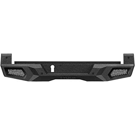 Tyger Auto TG-BP9T80198 Tyger Fury Rear Bumper Assembly Textured Black Compatible with 2016-2021 Toyota Tacoma