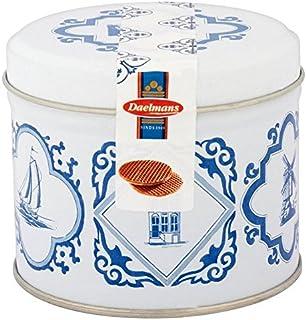 (Daelmans) 8キャラメルスズ230グラムをストロープワッフル (x2) - Daelmans 8 Caramel Stroopwafels Tin 230g (Pack of 2) [並行輸入品]