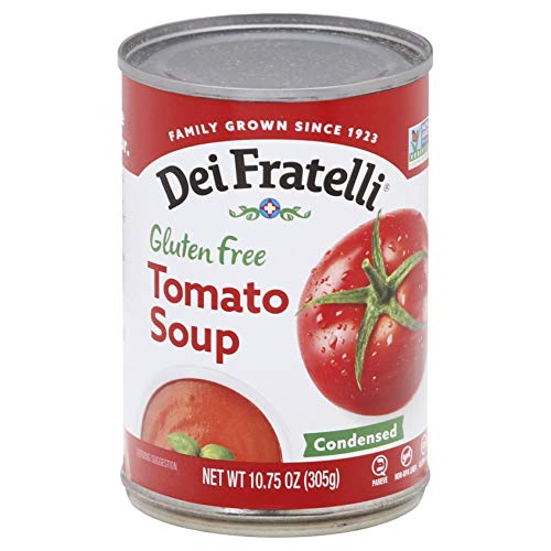 Dei Fratelli Tomato Soup - Gluten Free - All Natural - 5th Generation Recipe (10.75 oz. cans; 12 pack)