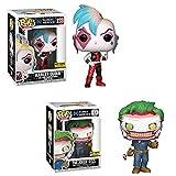 2 Uds Figuras De Anime De Vinilo Pop Suicide Squad # 233 Harley Quinn # 273 con Caja Figura De Acción Juguetes Colección Modelo De Juguete para Niños 10Cm