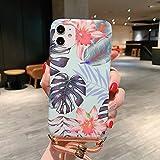 ZHANGHUI Housse de Protection for iPhone 11 Laser modèle Souple TPU étui de Protection avec...